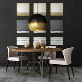 Crate and Barrel dining group