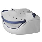 Угловая ванна с сидением GEMY G9025-II B