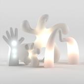 Eero Aarnio Lamp Collection