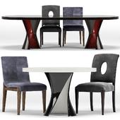 Miramont, Cavallini Chair, Ned Table