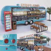 Модуль для уличного кафе дополненный