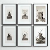 Picture Frames Set-46