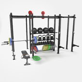 Functional frame for fitness