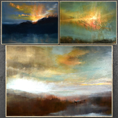 Paintings abstract   set 312