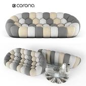 Bubble 3-seat Sofa