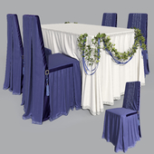 Furniture for a banquet 2