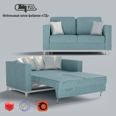 """OM Sofa bed """"Lux-1 Soft"""". Models from the Factory of upholstered furniture """"STD""""."""