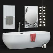 Antoniolupi ванна Ago полотенцесушитель Bitbarra зеркало Collage