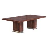 Ralph Lauren Duke Pedestal Dining Table