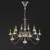 Chandelier with 16 lamps by Petrookhin