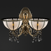 Sconce with 2 lamps by Petrookhin