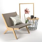 Scandinavian furniture Set