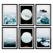 Posters: ice sea.