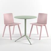 Стол Elliot и стулья Osaka