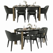 Connubia Calligaris Table with chairs
