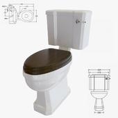 Toilet bowl Burlington P5 C3