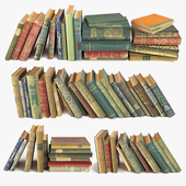 Состаренные книги на полку набор 1