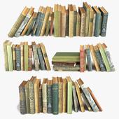 Состаренные книги на полку набор 7