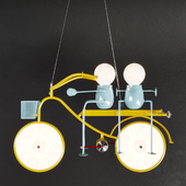 Bicycle chandelier 6037