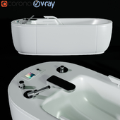 Caracalla Bathtub 3d model