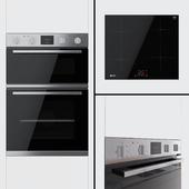 Neff - double oven U1HCC0AN0B and hob T36FB41X0G
