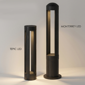 Street lamps TEPIC LED and MONTERREY LED from NOWODVORSKI