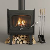 Fireplace nectre