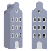 Children's wardrobe-house-2 series Amsterdam from the factory Mandarin