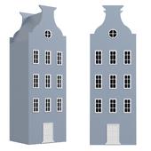 Children's wardrobe-house-5 series Amsterdam from the factory Mandarin