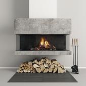 Fireplace modern 33