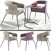 Ellen Dining Chair With Coffee Table