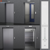 Lift Kone MonoSPACE 500