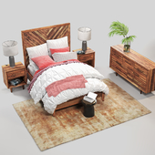 westelm Alexa Bed Set