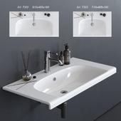 GALASSIA Dream Washbasin art. 7302 art. 7303