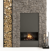 Fireplace and firewood 34