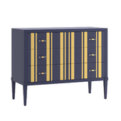 Loud Hooker Furniture Cynthia Rowley Parker Striped
