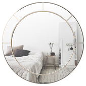 Large Round Wall Mirror BRYS3835