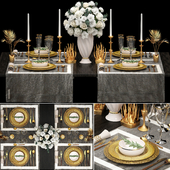 Table setting 2. ZARA HOME