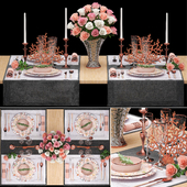 Table setting 3. ZARA HOME