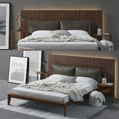 Molteni Wish Bed Composition
