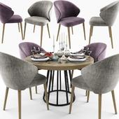 Ellen Dining Table Chair Set