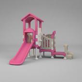 pink playset