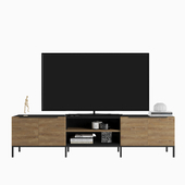 """Rigby Natural 80.5 """"Large Media Console"""
