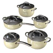 Set of dishes Yamateru Midor