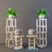 Furniture set - FRANCESCO MOLON (Curbstones)