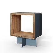 """OM"" Ecocomb-5 bedside table from Bragindesign"