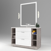 WC-Tumb (Cabinet with sink for the bathroom)