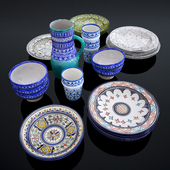 Moroccan ceramics 1