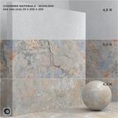 Материал (бесшовный) - покрытие, бетон, штукатурка set 68