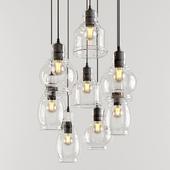 Antique Glass Cluster Lights